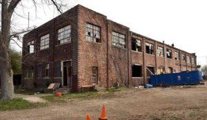 dilapidated construct