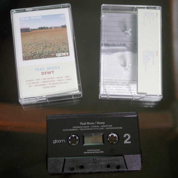 teal moss dewy cassette